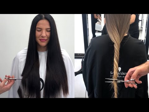 Crying During The Haircut? Beautiful Hairstyles Tutorial by Professional ♥