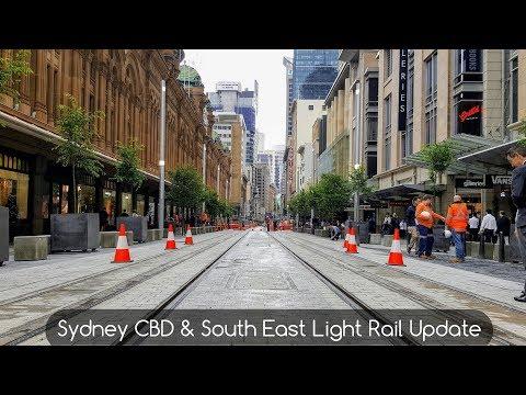 Sydney Trains Vlog 1428: George St Revealed - CBD & South East Light Rail Update