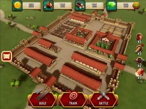 Simon Scarrow's Cato and Macro - App Preview