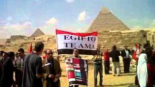 Egypt's Tour guides urge tourists to return to Egypt at the Giza Pyramids--Egypt Fun Tours Thumbnail