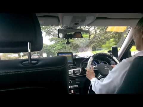 SINGAPORE MERCEDES TAXI VLOG - Singapore has no fun for naughty businessman