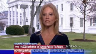 Kellyanne Conway CONFIRMS Trump is 'Not Going to EVER Release His Tax Returns'