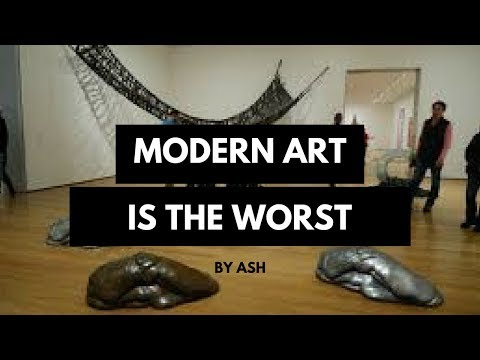Modern Art is a Scam
