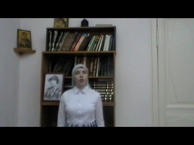 Изображение предпросмотра прочтения – ЕленаНизамова читает произведение «Не умрешь, народ!» М.И.Цветаевой