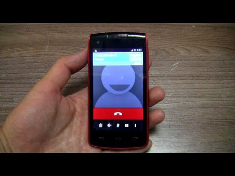 Alcatel One Touch Incoming Call