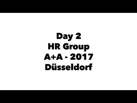 Day 2 | HR Group | A+A - 2017 | @Düsseldorf