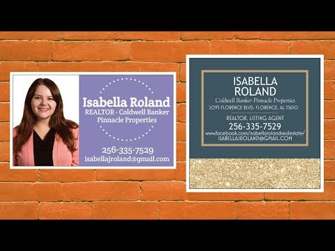 Should You Put Your Picture On Your Business Card? Example for Real Estate Agents/Realtors