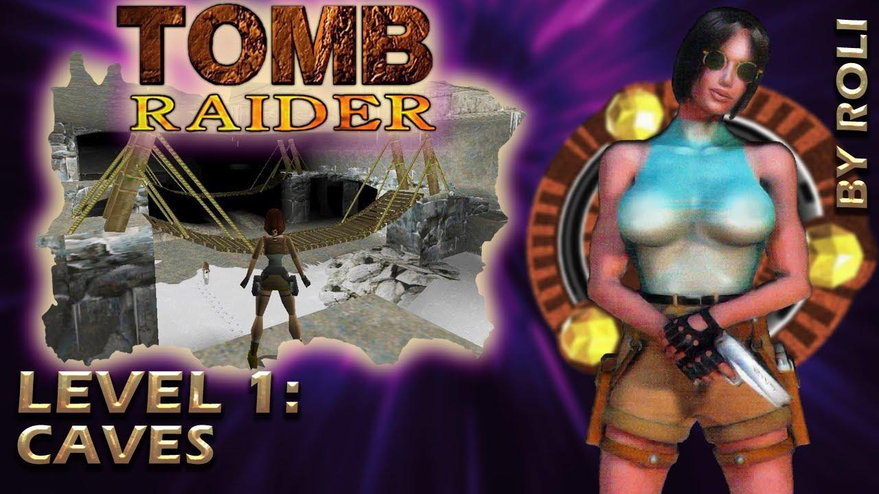 Tomb Raider 1 1996 Level 1 Caves Walkthrough Youtube