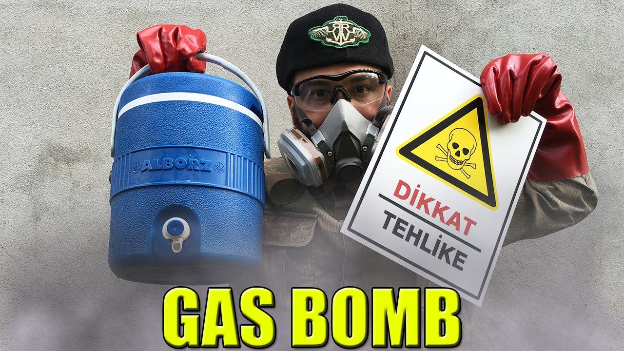 GAZ BOMBASI NASIL YAPILIR? (NovaBusters)