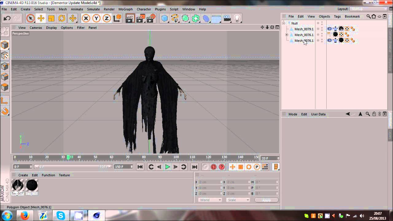 Integration between body and clothes - ANIMATION IMPORT