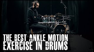 THE BEST Ankle Motion Exercise In Drumming - James Payne