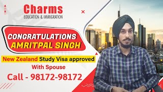 New Zealand Study Visa | Mr. Amritpal Singh