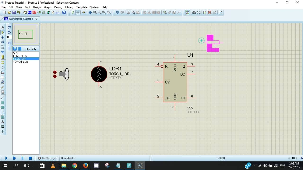 Proteus Tutorial 1 Street Light Using Ldr Youtube Four Way Traffic Signal Project Ic 555 Timer