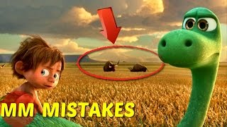 8 Hidden Mistakes You Missed In The Good Dinosaur | The Good Dinosaur Movie Mistakes
