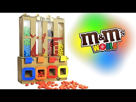 Thumbnail: How to Make M&M's Chocolate Vending Machine - Just5mins