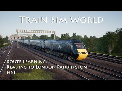 a world in a train by