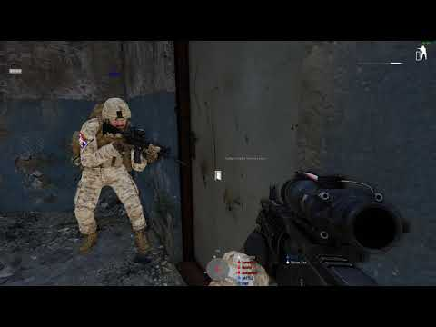 [ArmA 3] Cat Tactical - Lames Ran Out Of Ammo While Room Clearing