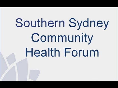 Introduction-Southern Sydney Health Forum Hurstville