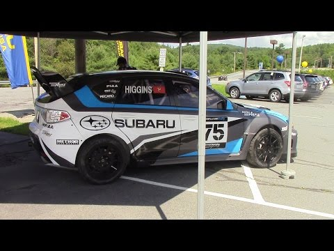 Vermont Sports Car Subaru STI Rally Car Walk Around Tour