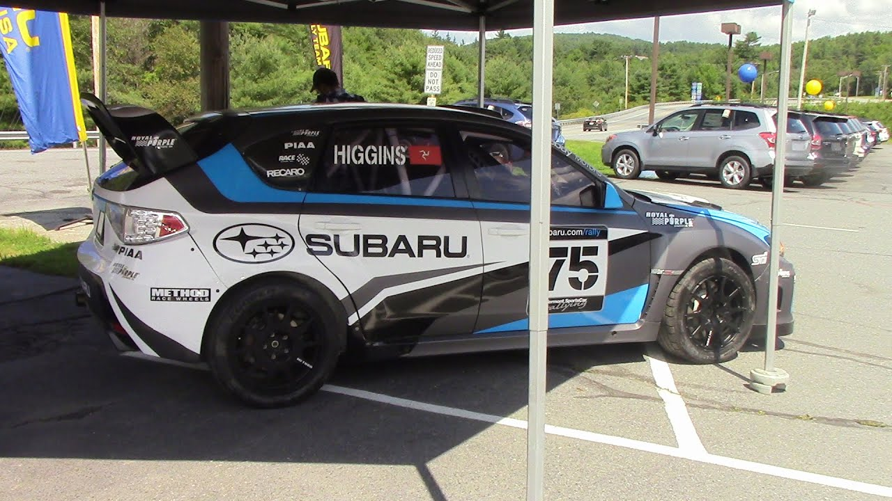 Vermont Sports Car Subaru STI Rally Car Walk Around Tour - YouTube