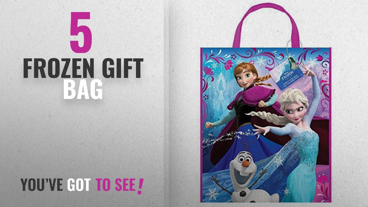 Top 10 Frozen Gift Bag 2018 Large Plastic Disney Goo 13 X 11