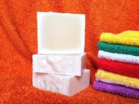 Натуральное хозяйственное мыло легко сделать самой.