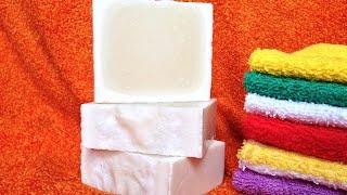 Натуральное хозяйственное мыло, легко сделать самой.(Многих волнует проблема бытовой химии. В том, что она вредна для здоровья человека, сомнений нет. Но, промышл..., 2015-08-07T12:41:25.000Z)