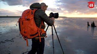 Zoom Academy: Zonsondergang aan de Waddenzee