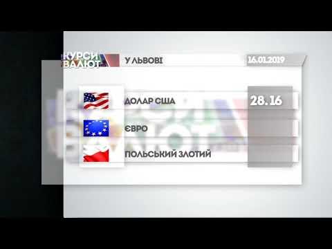 НТА - Незалежне телевізійне агентство: Курси валют та прогноз погоди на 17 січня
