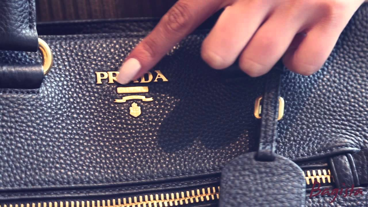 12d993bc57 The Genuine Article  Authenticating a Prada bag. - YouTube