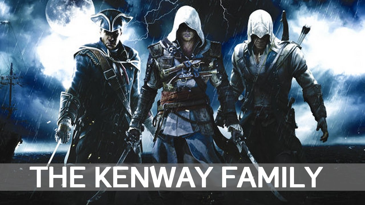 Assassin S Creed The Kenway Family Tribute Youtube