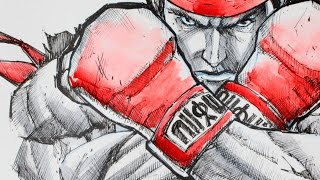 Ryu - Street Fighter V - Speed Drawing