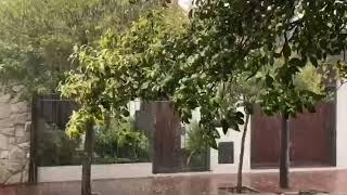 Fuerte tormenta en Río Cuarto este jueves 24 de octubre