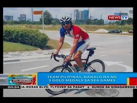 BP: Team Pilipinas, nanalo na ng 3 gold medals sa SEA Games