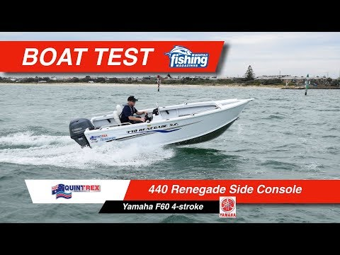 Tested | Quintrex Renegade 440 SC with Yamaha F60
