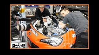 Motor Einbau Roots Racing BRZ l Test Prototypen Airbox l Gewinnspiel STi l Subi-Performance