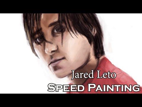 Jared Leto(actor,frontman) - Digital Speed Painting.
