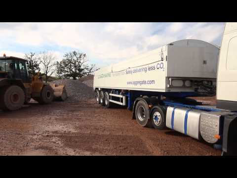 Aggregate Industries Non Tipping Truck