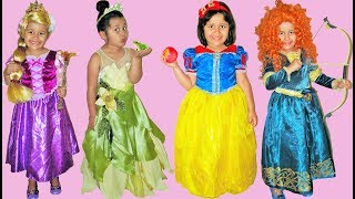 8 halloween costumes disney princess snow white rapunzel tiana belle ariel