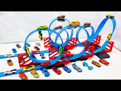 Carritos de Carrera Para Niños - Pista de 360 Grados Para Coches de Carreras
