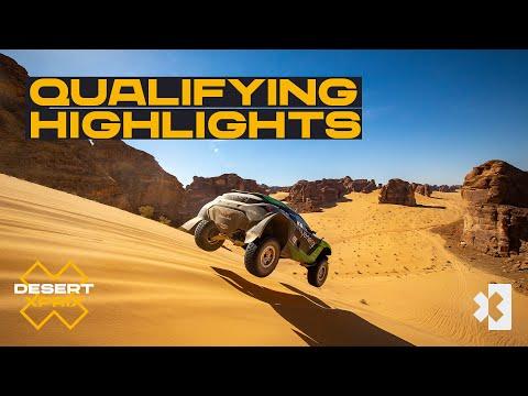 Qualifying Day Highlights   Desert X Prix   Extreme E