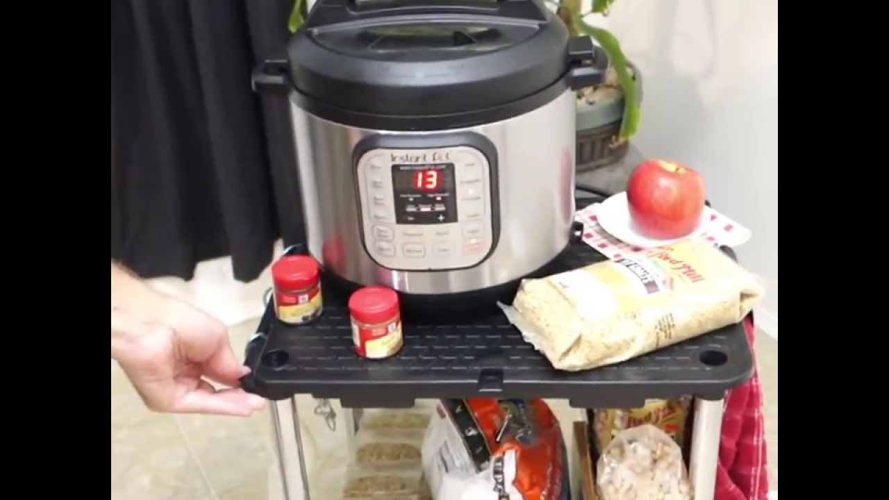 Instant Pot Storage Solution, Use A Link It Utility Cart!