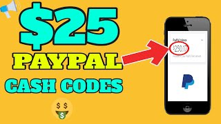 Get Paypal Cash Codes For Free (Earn Paypal Money)