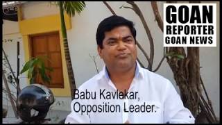 Goan Reporter, Goa's Web News Channel: oppostion leader babu kavlekar comments on loksabha elections