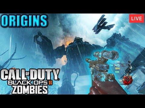 🔴 EASTER EGGS BO3 - ORIGINS - Black Ops 3 Zombies - #DOMINGAOTEMLIVE