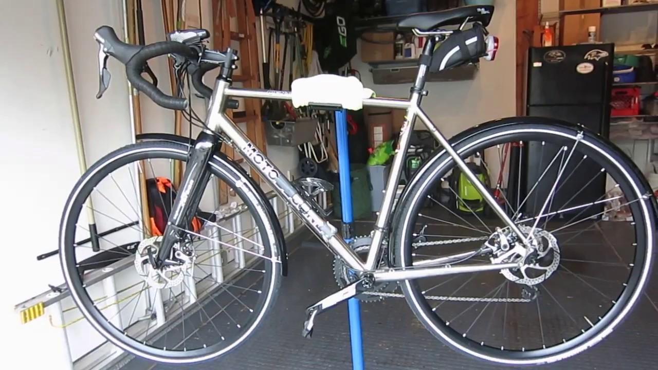 Titanium super-commuter: Motobecane Century Gravel Bike