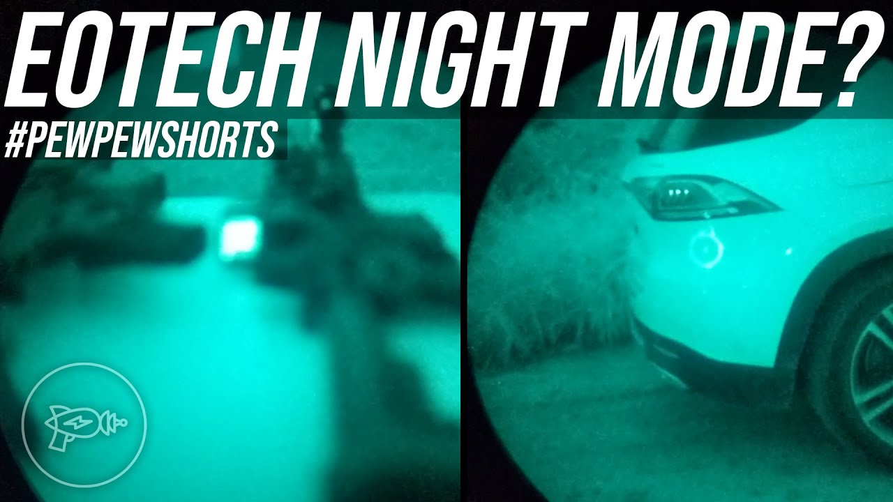 The Importance of Your EOTech's Night Mode 😂 [Pew Pew Shorts]