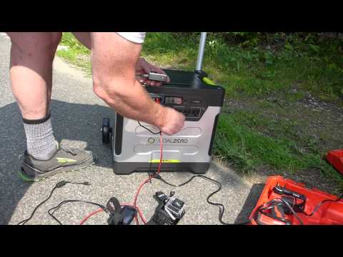 GOAL ZERO YETI 1250 REVIEW – IT'S GOOD BUT SEE MY LATEST VIDEOS ON IT