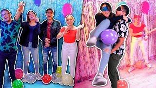 YouTubers VS El Globo loco | Solo el más fuerte ganará