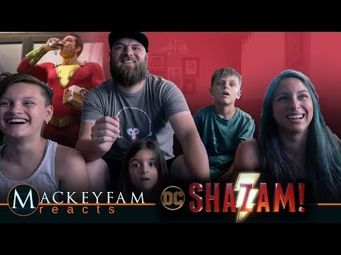SHAZAM! - Official Teaser Trailer- REACTION and REVIEW!!!